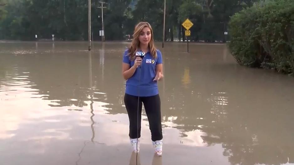 Celina Pompeani Reporting Stand Ups Celina Pompeani