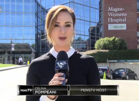 Celina Pompeani: Pittsburgh Penguins TV Host (2015)