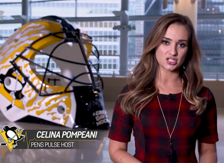 Celina Pompeani: Penguins TV Host & KDKA Traffic Anchor